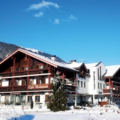 Skijanje u Italiji, skijalište Kronplatz, Hotel Brunnerhof, pogled izvana