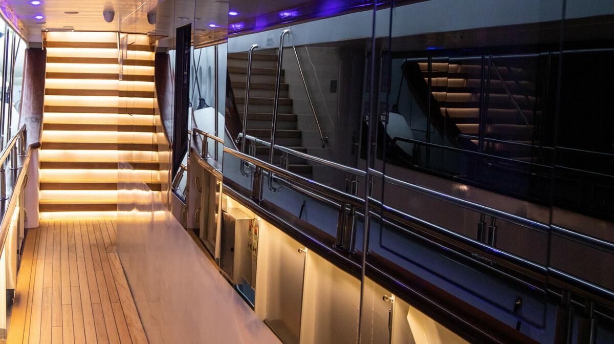 Krstarenje Jadranom Freedom - unutrašnjost broda