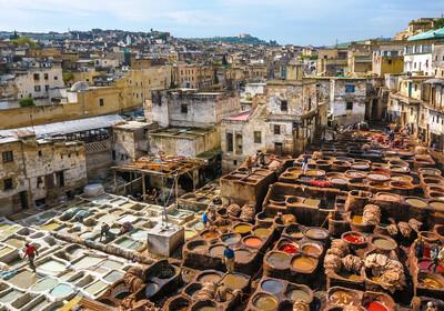 Tvornica kože Fez, putovanje maroko, mondo travel, putovanje zrakoplovom, garantirano putovanje