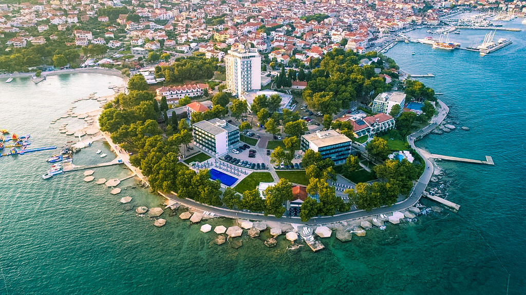Vodice, Hotel Punta, panorama