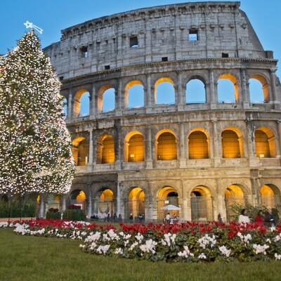 Rim, koloseum, putovanje zrakoplovom, mondo travel