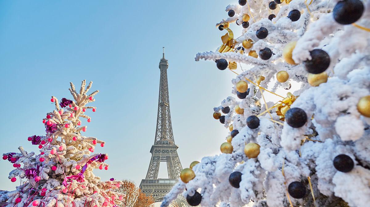 Eiffelov toranj u okićenom Parizu, Nova godina u Parizu