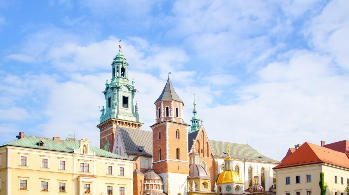 Wawelska katedrala, autobusna putovanja, putovanja zrakoplovom, Mondo travel, europska putovanja