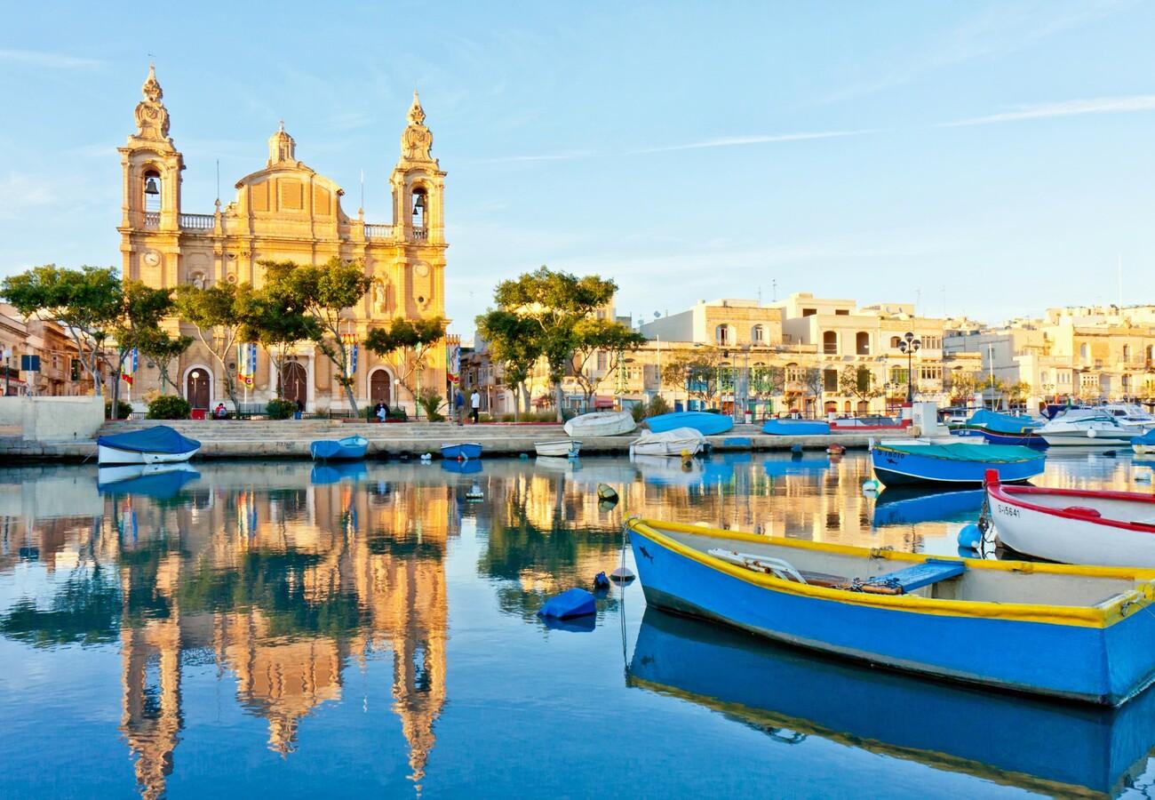 Sliema, ljetovanje Mediteran, Nova godina Malta, posebnim zrakoplovom