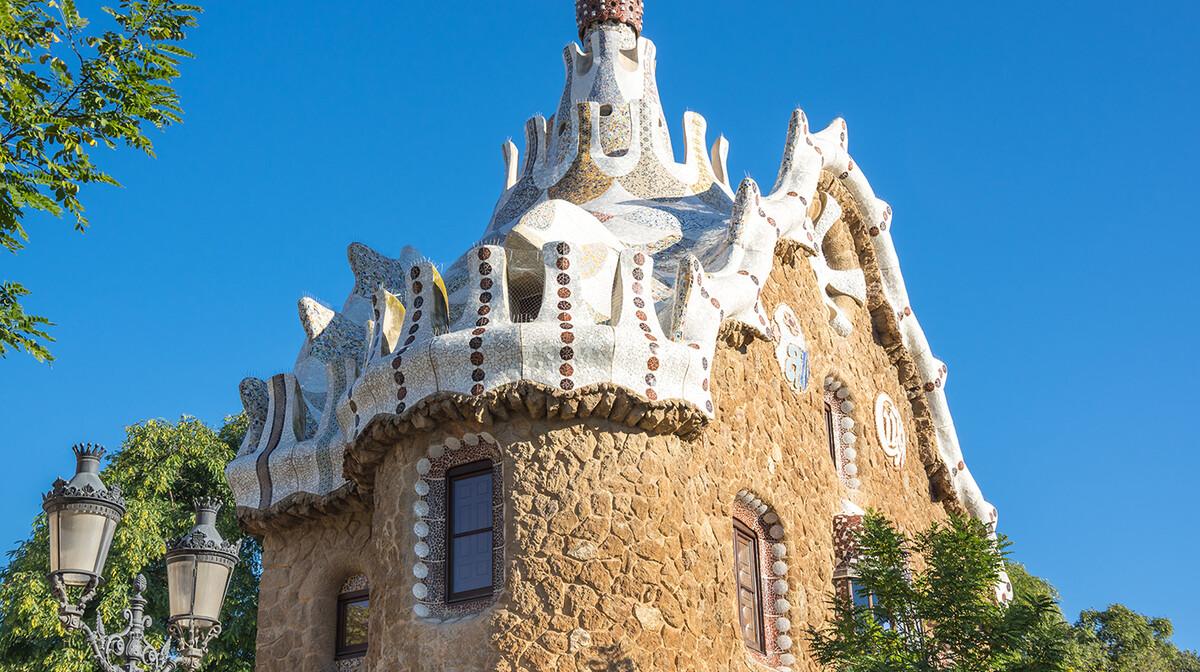 Park Guell, Barcelona, putovanje u Španjolsku