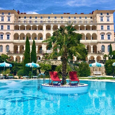Crikvenica, Hotel Kvarner Palace, bazen