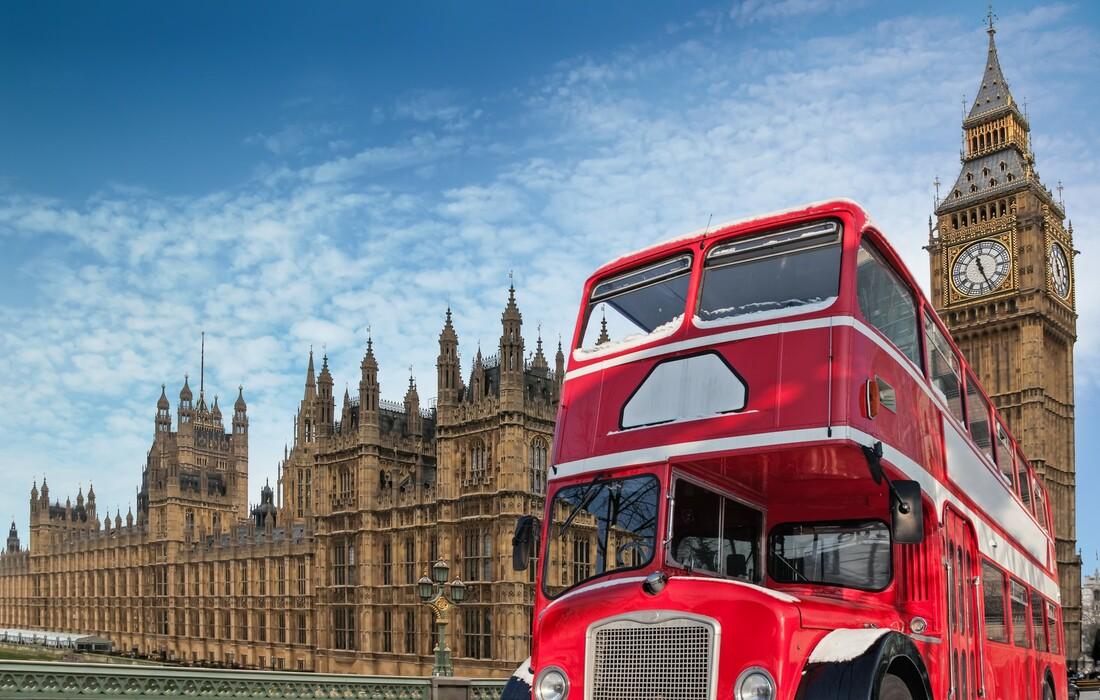 Double decker bus, putovanje London