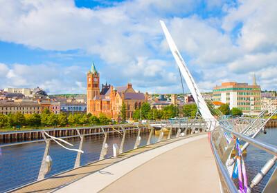 putovanja Sjeverna Irska, grad Londonderry Most mira