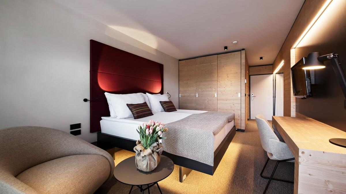 Skijanje u Sloveniji, Bled, Hotel Rikli Balance Hotel, spavaća soba