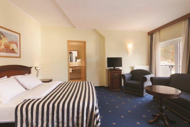 Slovenija, Kranjska Gora skijanje, Ramada Hotel & Suites KG, soba u hotelu