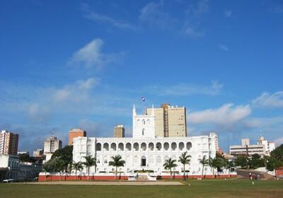 Paragvaj, Asuncion, Lopez predsjednička palača