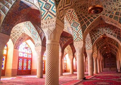iran - Nasir al-Mulk mosque, Shiraz