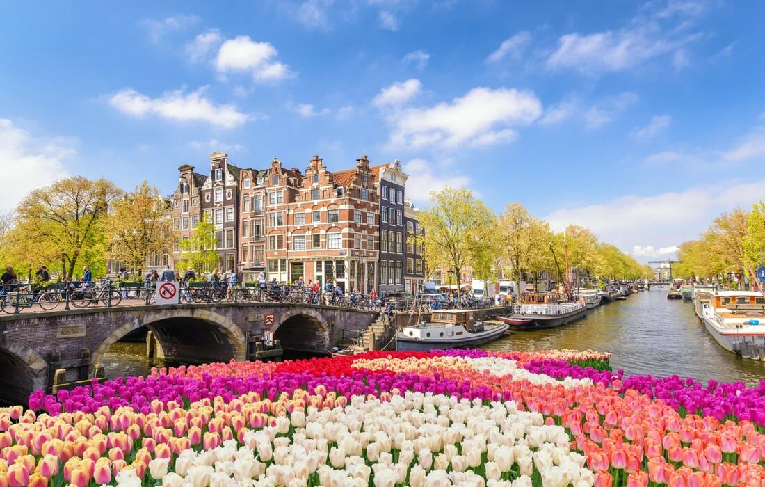 Tulipani i amsterdamski kanali, putoavnje u Amsterdam
