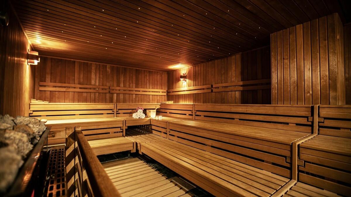 Solaris, Hotel Ivan, sauna