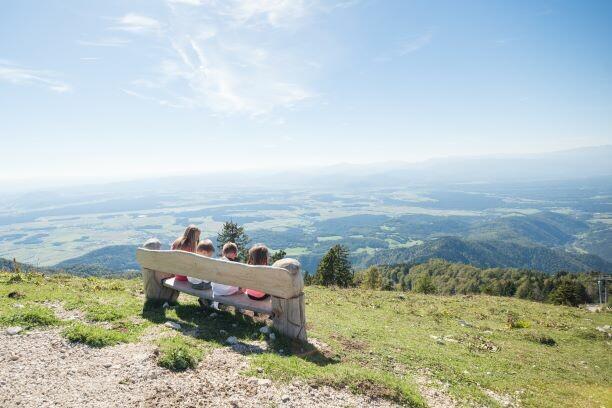 Slovenija, Krvavec, izlet u prirodu sa obitelji