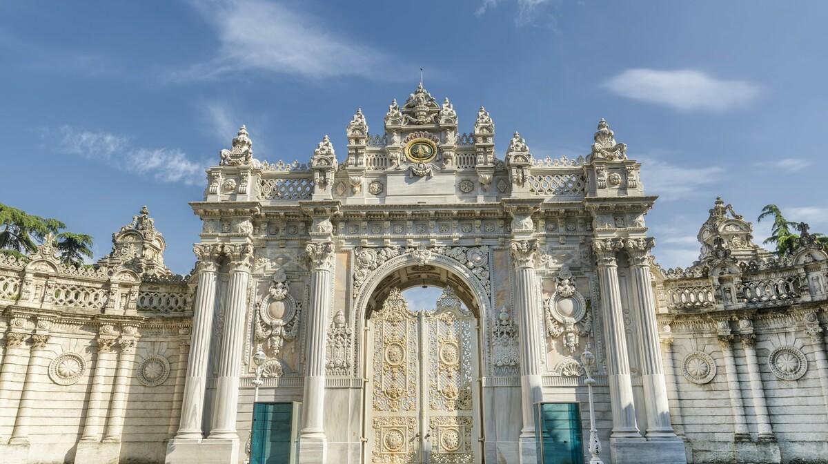 dolmabahce palaca, puttovanje zrakoplovom u Istanbul