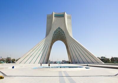 iran - teheran - Azadi Square