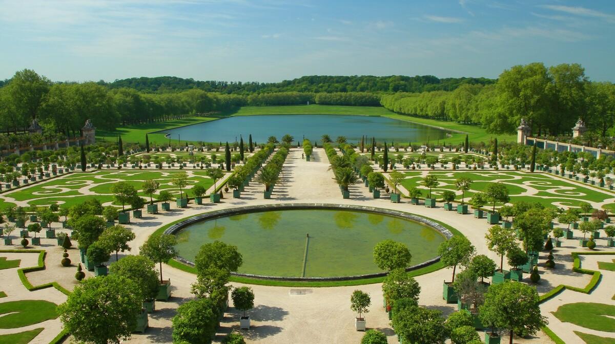 dvorac Versailles, Pariz putovanje