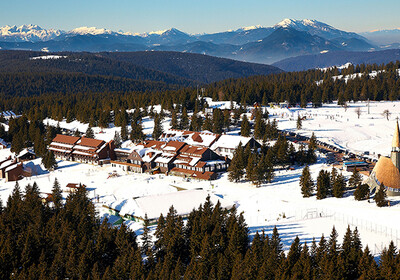 Rogla panorama, skijanje slovenija