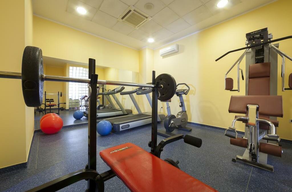 Fitness soba u hotelu Kristal, Opatija.