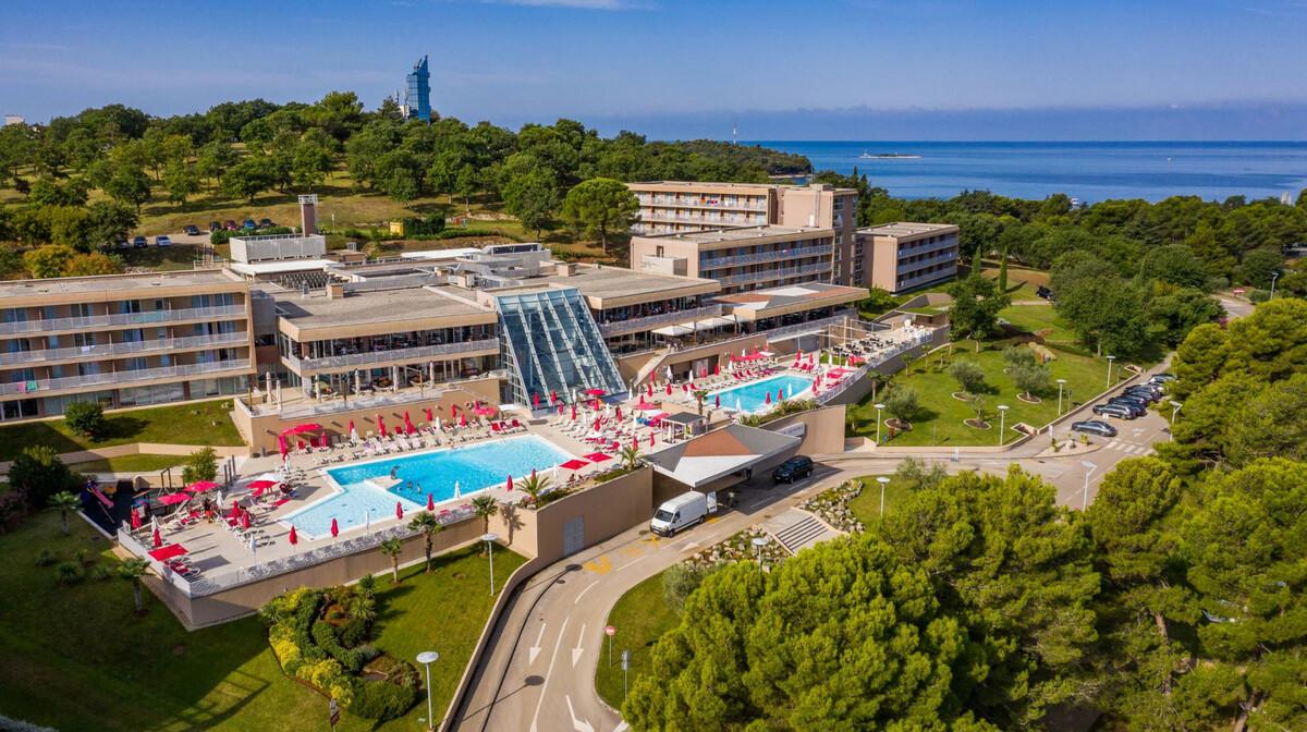 Hotel Molindrio Plava Laguna Panorama