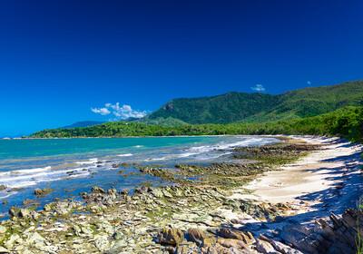 Cairns, plaža Ellis, Australija