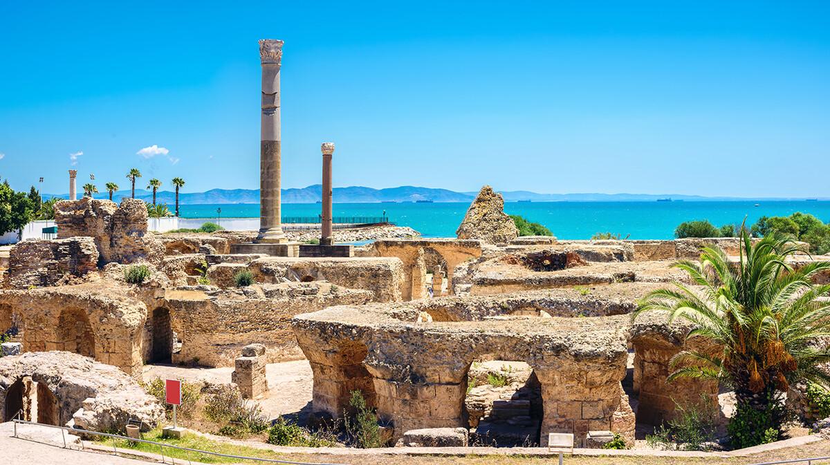 Kartaga arheološko nalazište, Tunis, ljetovanje Mediteran, charter let Tunis