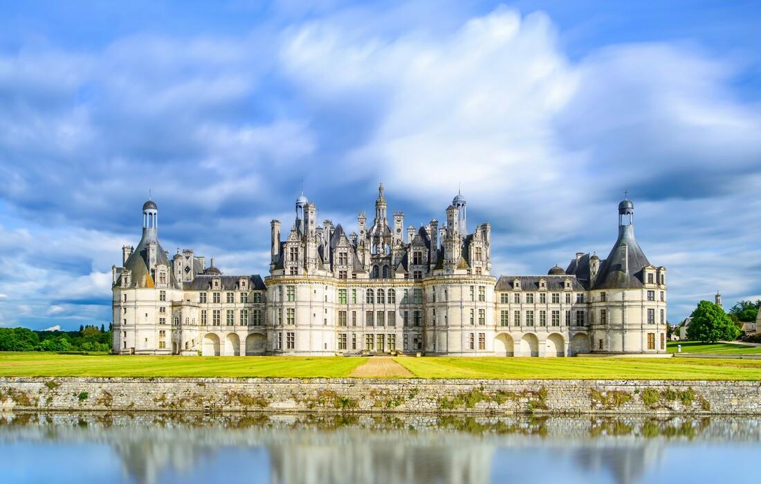 Chateau de Chambord, Putovanje u Burgundiju, putovanje avionom, Mondo travel