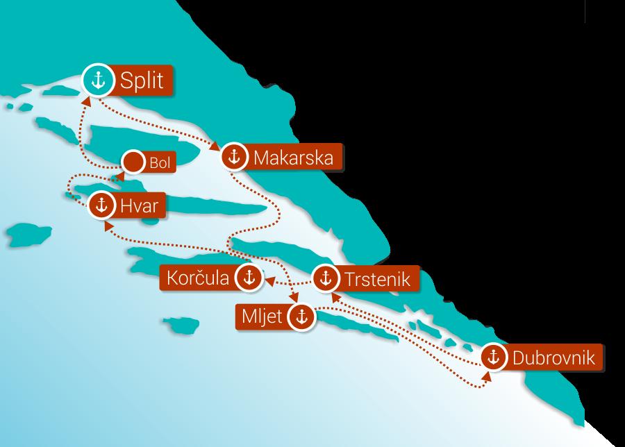 Krstarenje KL2, Katarina Line