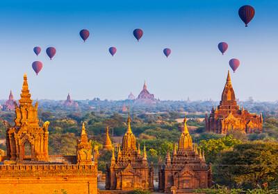 Myanmar, Bagan, Hramovi