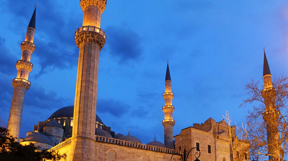 sulejmanija, Istanbul, mondo travel