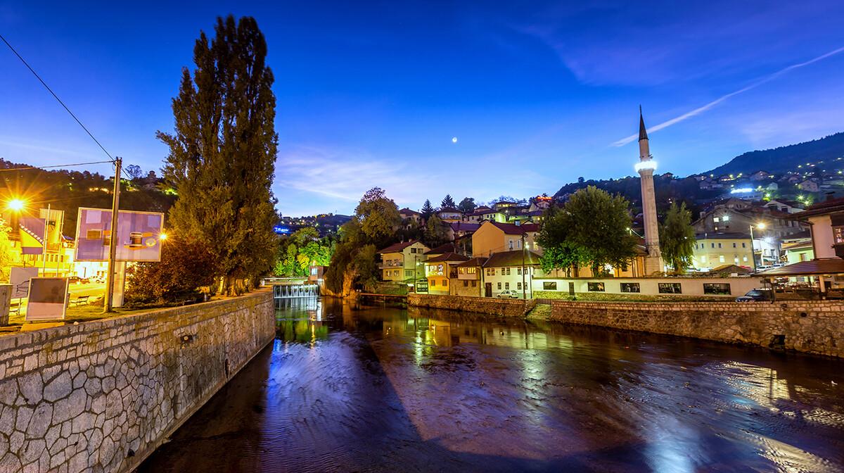 Miljacka, Sarajevo, mondotravel