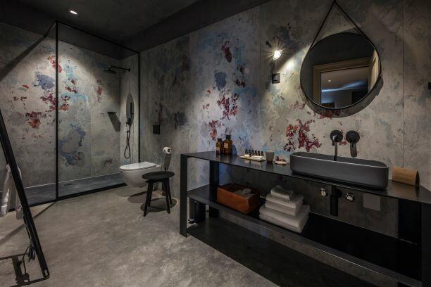 San Canzian, kupaonica