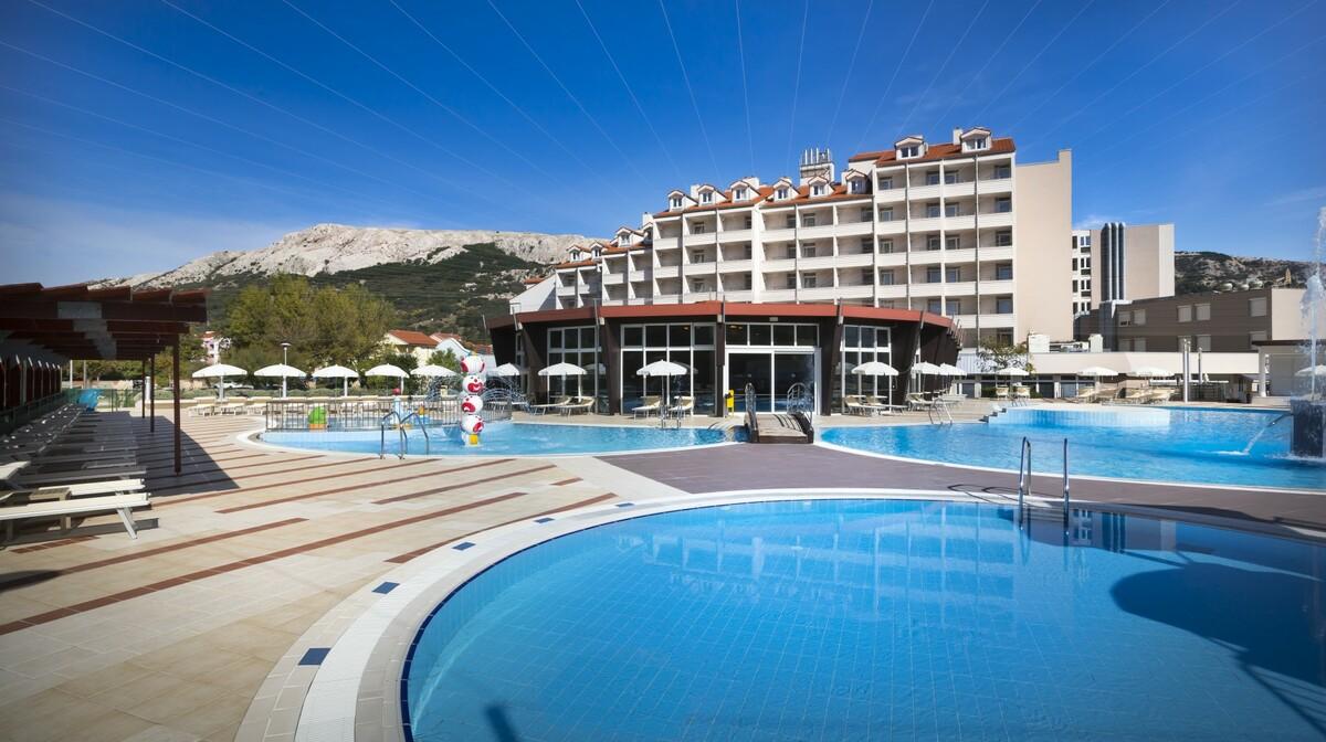 Hrvatska, Corinthia Baška Sunny Hotel by Valamar, obiteljsko putovanje, vanjski bazeni