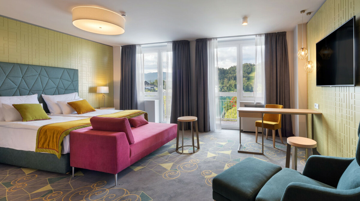 Skijanje i wellness u Sloveniji, Bled, Hotel Rose, soba superior