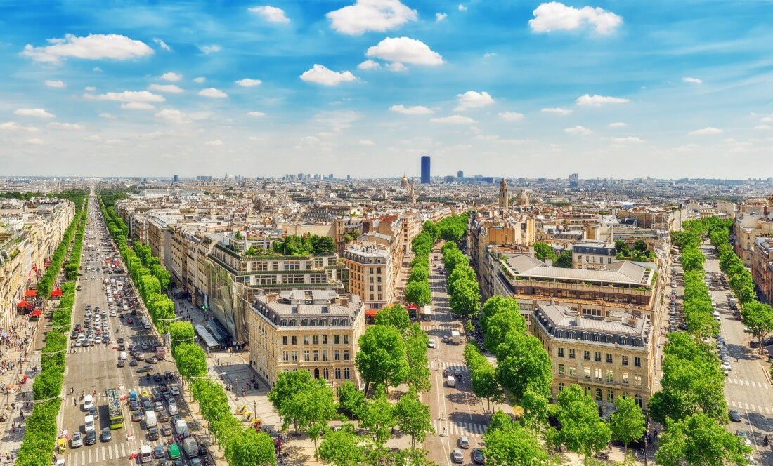 Panorama Pariza, Pariz putovanje