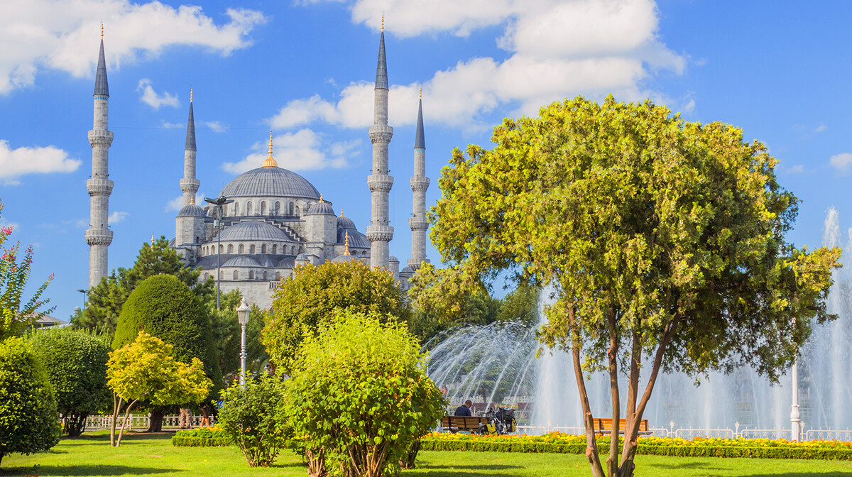 hagia sophia, putovanje  zrakoplovom u istanbul