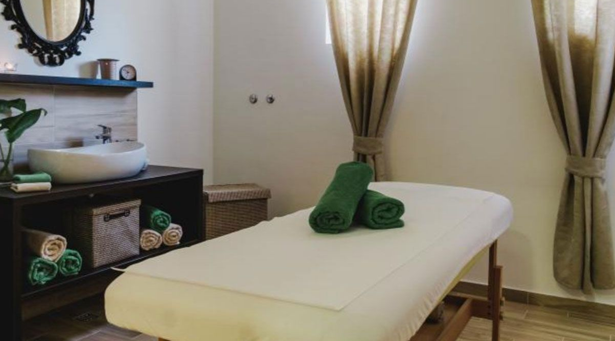 Cakovec, hotel Castellum, masaza