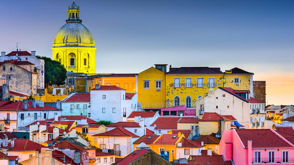 Alfama Lisabon, putovanje u Portugal