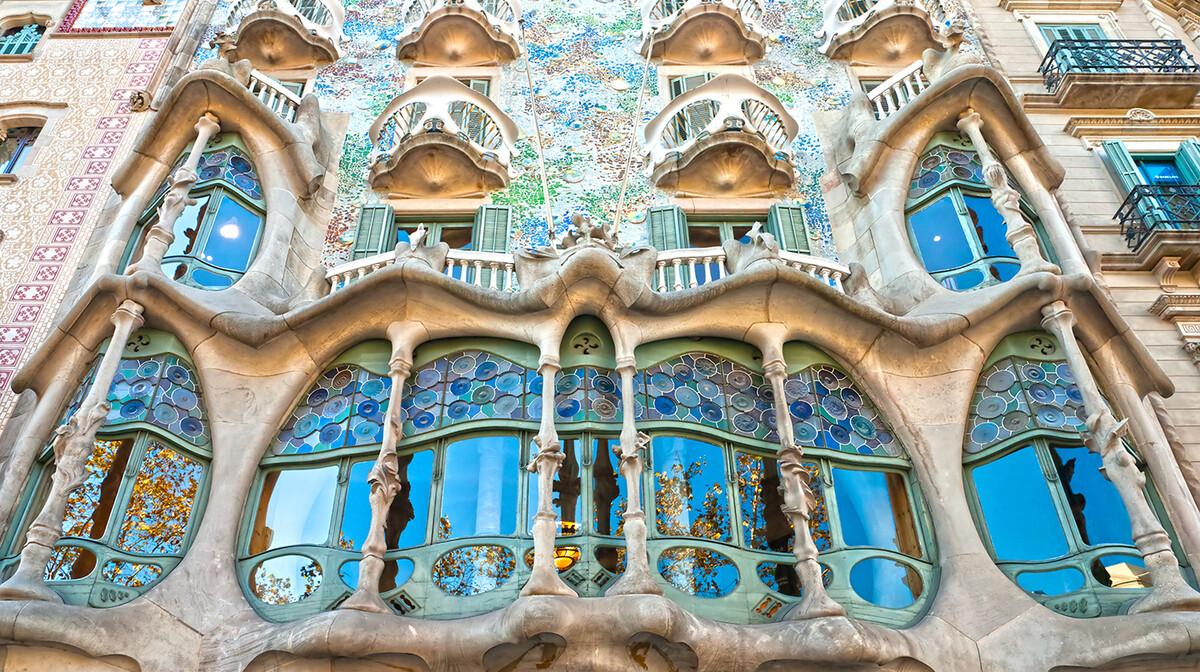 kuća Batlllo, Barcelona, putovanje u Barcelonu, Gaudi, garantirani polasci