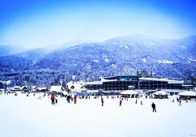 Slovenija, Kranjska Gora, skijanje