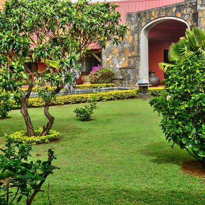 Mauricijus, Chamarel, vrt destilerije Rhumerie de Chamarel, daleko putovanje na Mauricijus