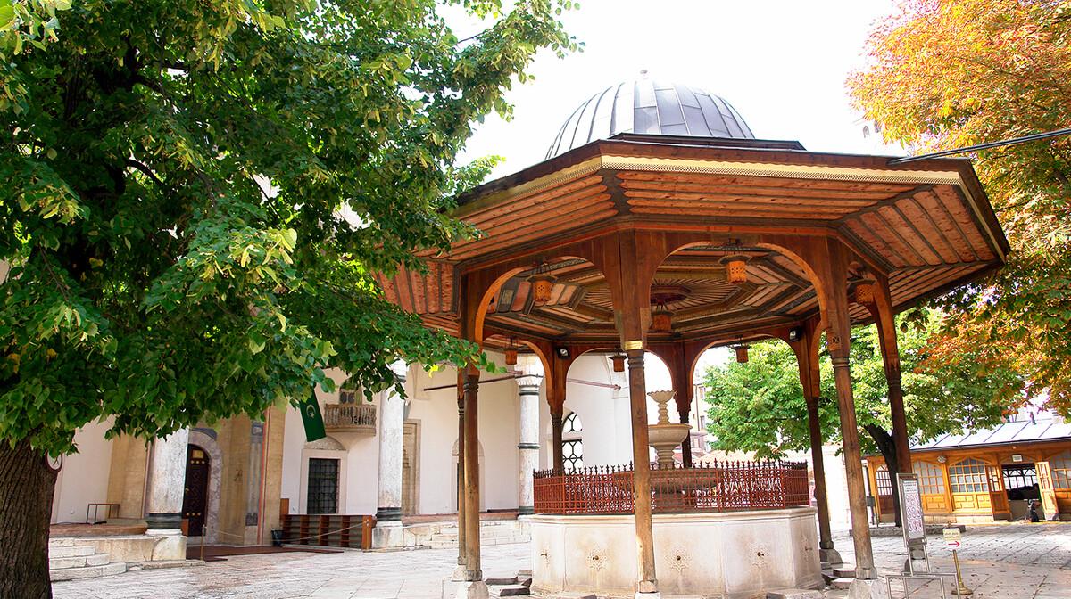 Sarajevo, Gazi Husrev-begova džamija, mondo travel