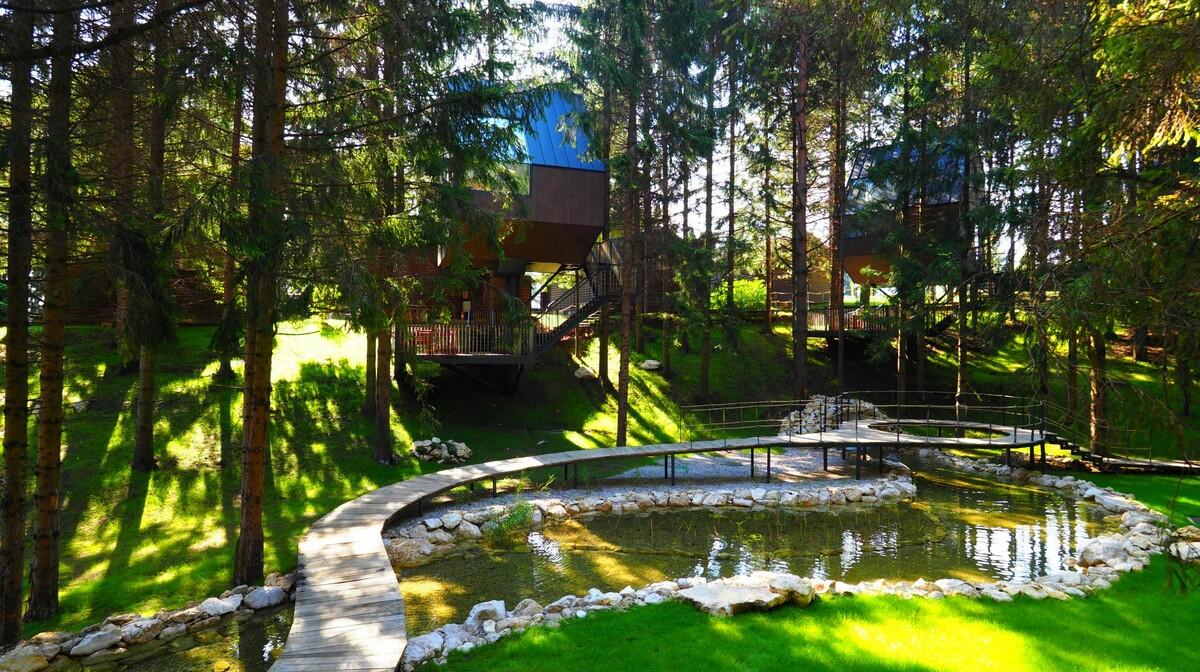Kućice uz jezero