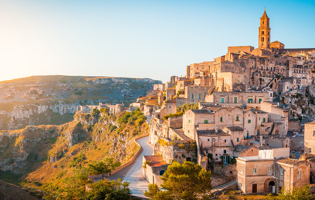 MAtera u Basilicati, Putovanje Apulija i Basilicata autobusom