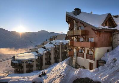 Francuska - Val Thorens, skijanje