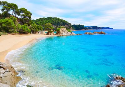Costa Brava, Cala Treumal beach, Lloret de Mar