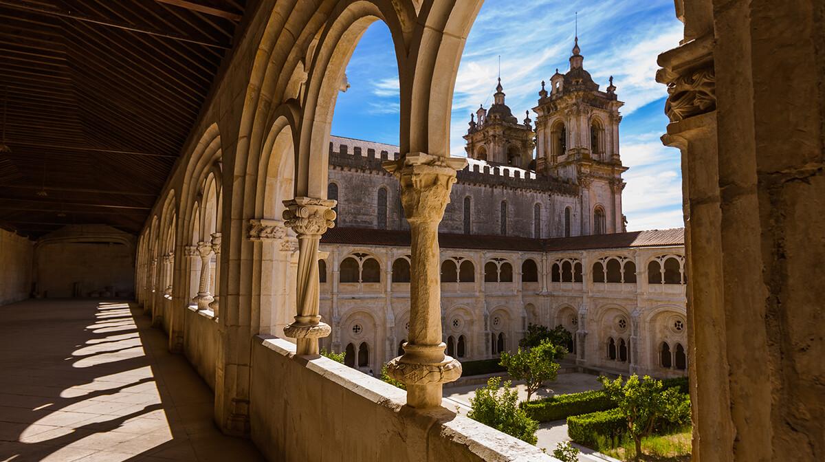 Portugal - Alcobaca samostan