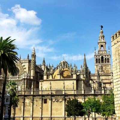 Palača Alcazar, putovanje u Andaluziju