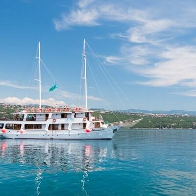 Krstarenje Jadranom, brod Morena